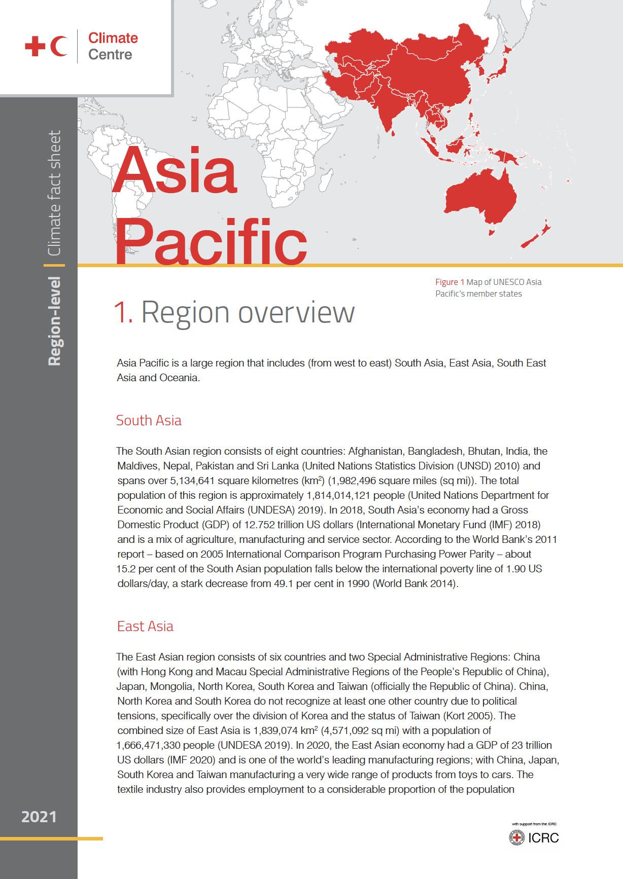 Region: Asia Pacific