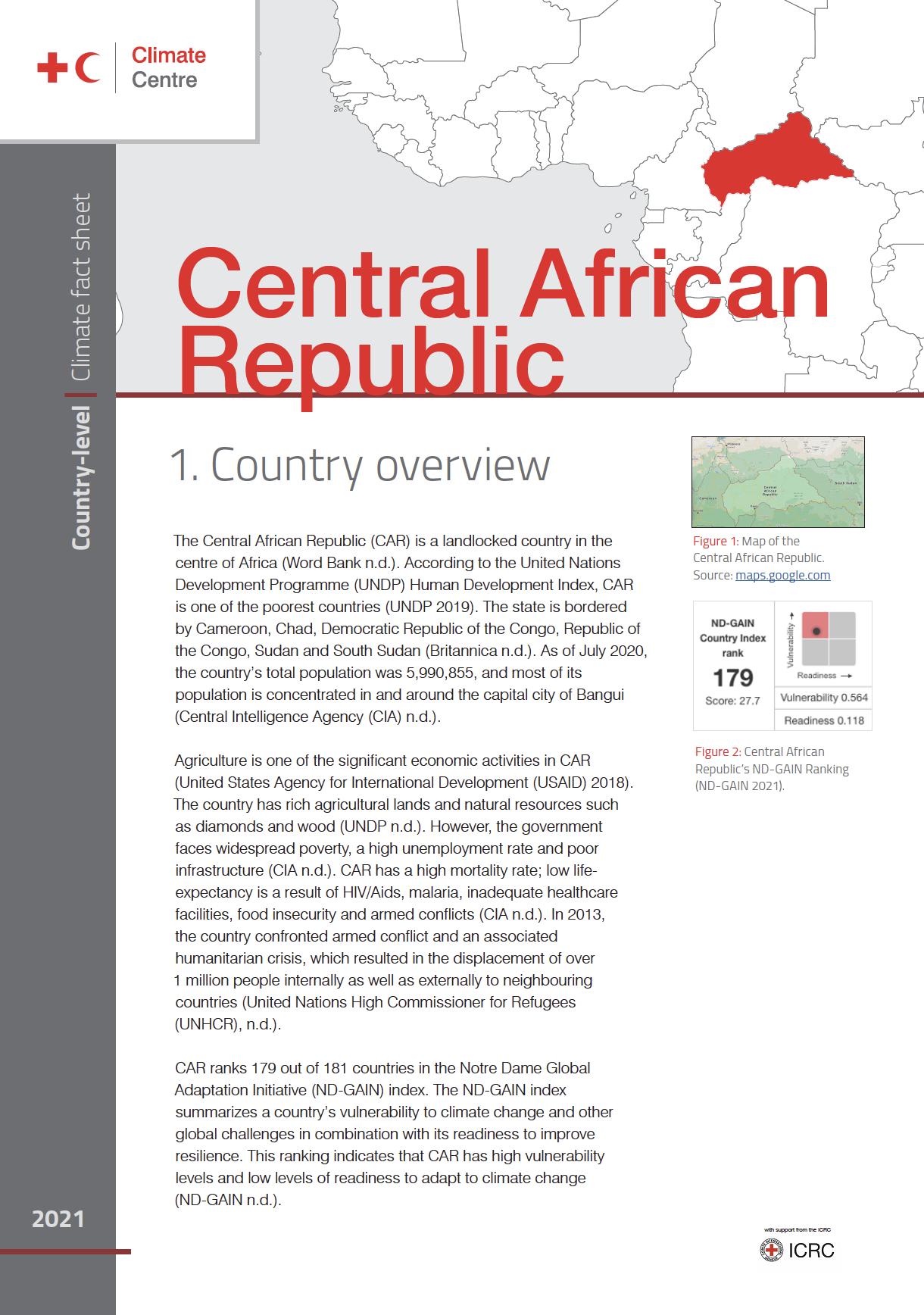 Country Factsheet: Central African Republic