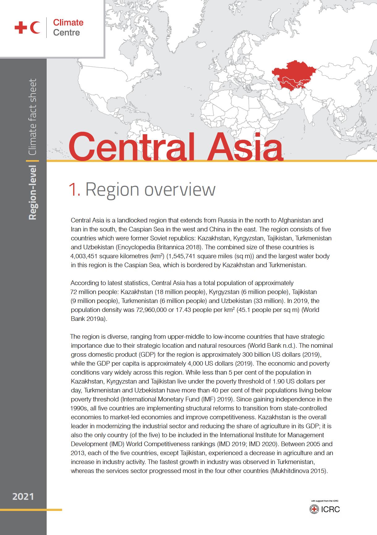 Region: Central Asia