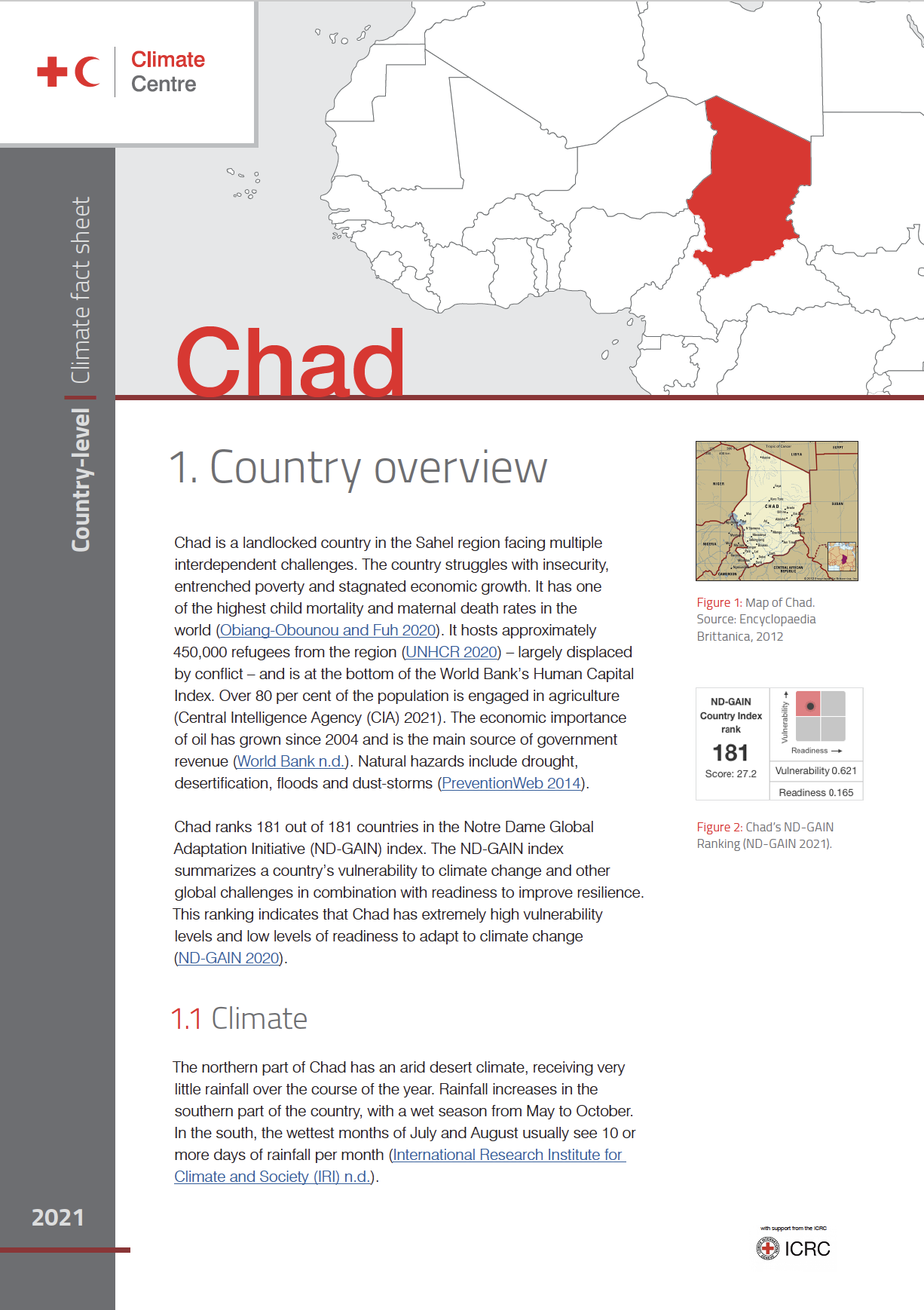 Country Factsheet: Chad