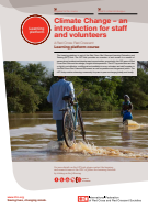 Climate Change – an introduction for staff and volunteers