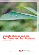 Climate change and the Red Cross and Red Crescent