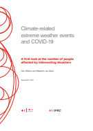 Climate-related extreme weather events and Covid-19