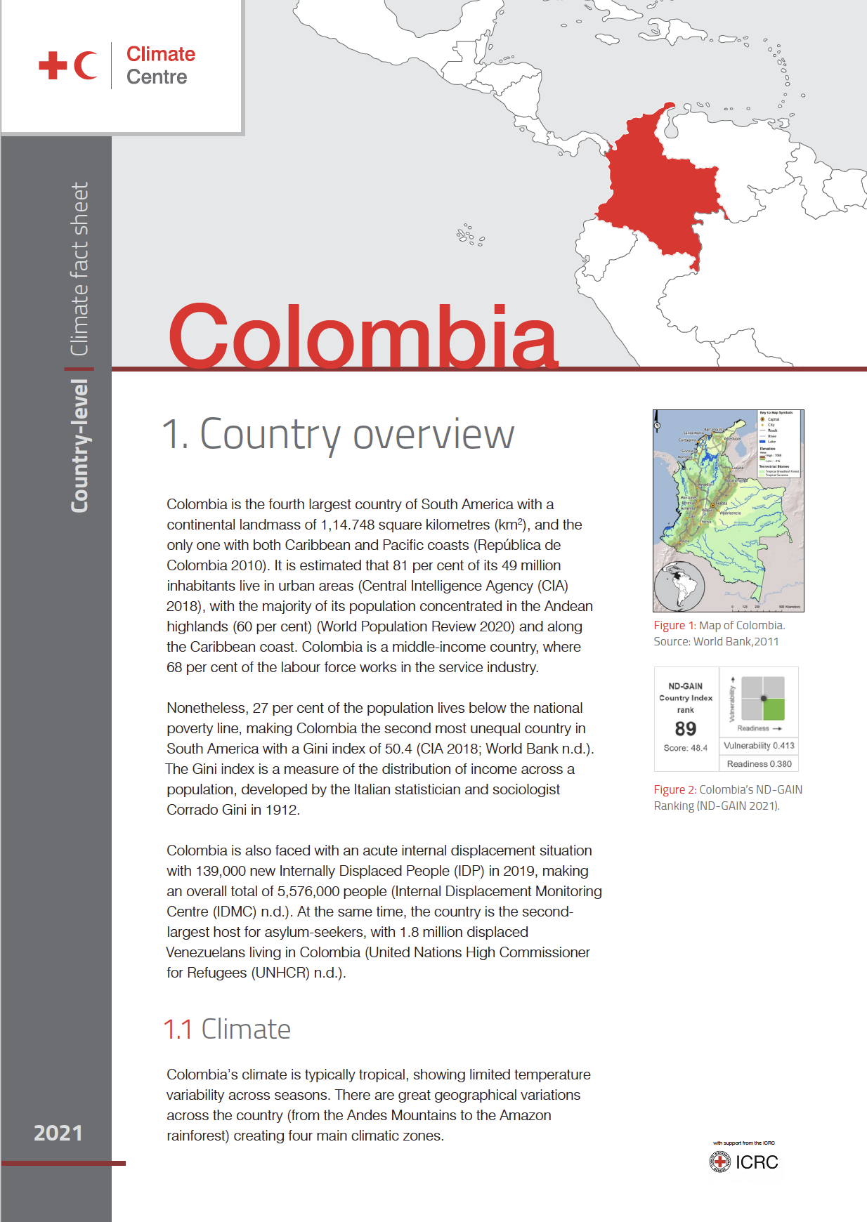 Country Factsheet: Colombia