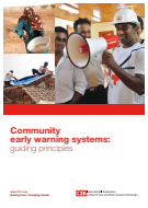 Community early warning systems: guiding principles