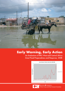 Early warning early action: An evaluation of IFRC West and Central Africa Zone flood preparedness and response 2008