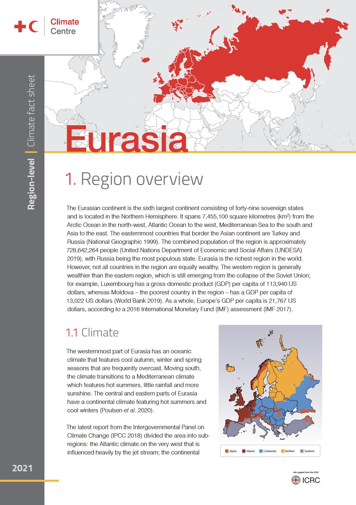 Region: Eurasia