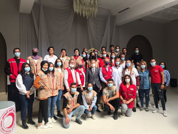 'The quickest way to get global funding to local actors': Donors vow increased support for IFRC's Disaster Relief Emergency Fund