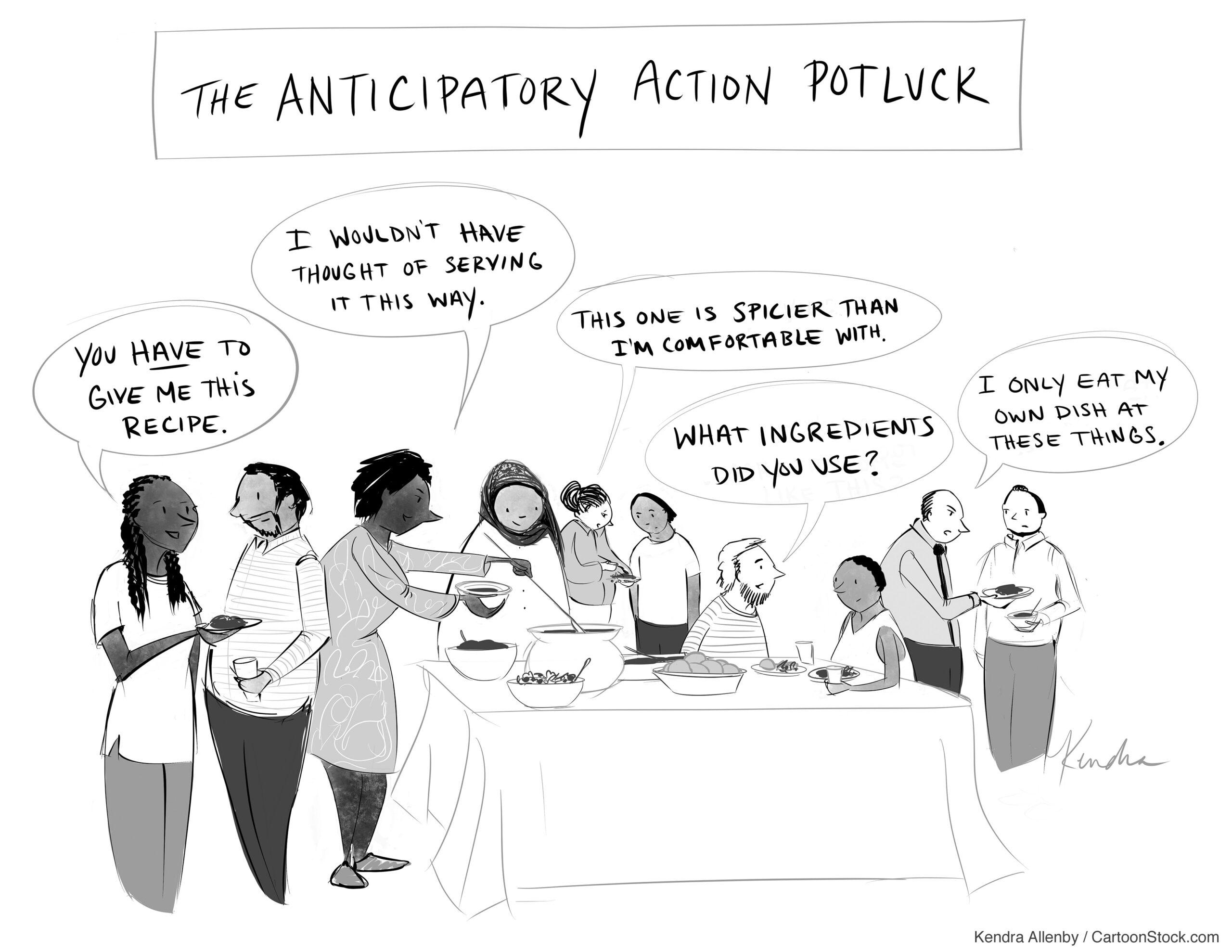 The Anticipation Hub