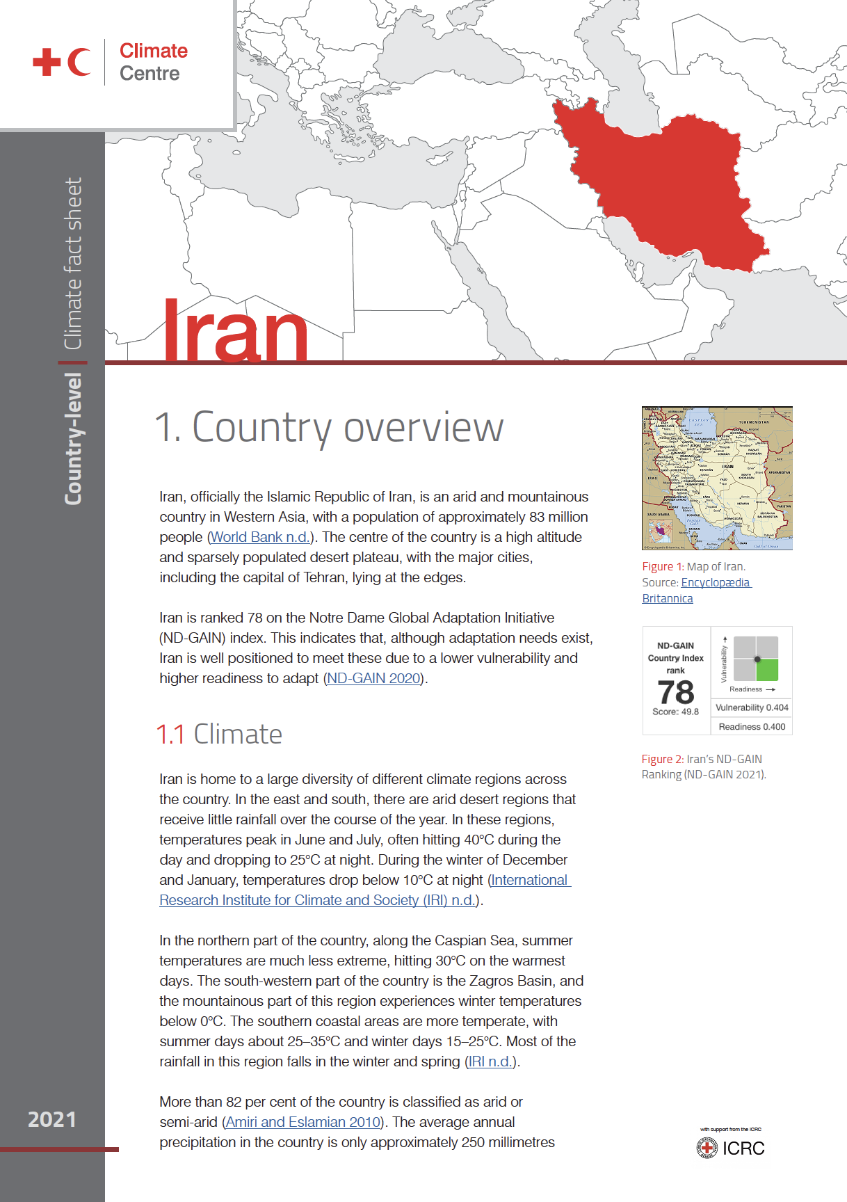 Country Factsheet: Iran