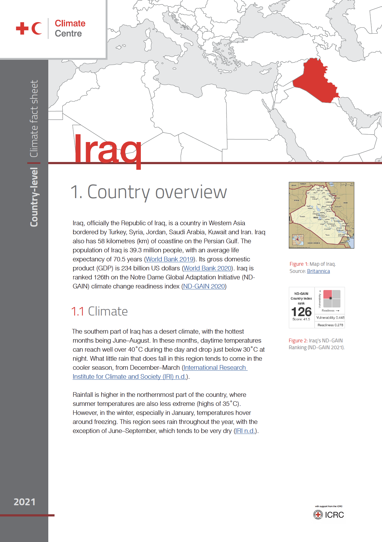 Country Factsheet: Iraq