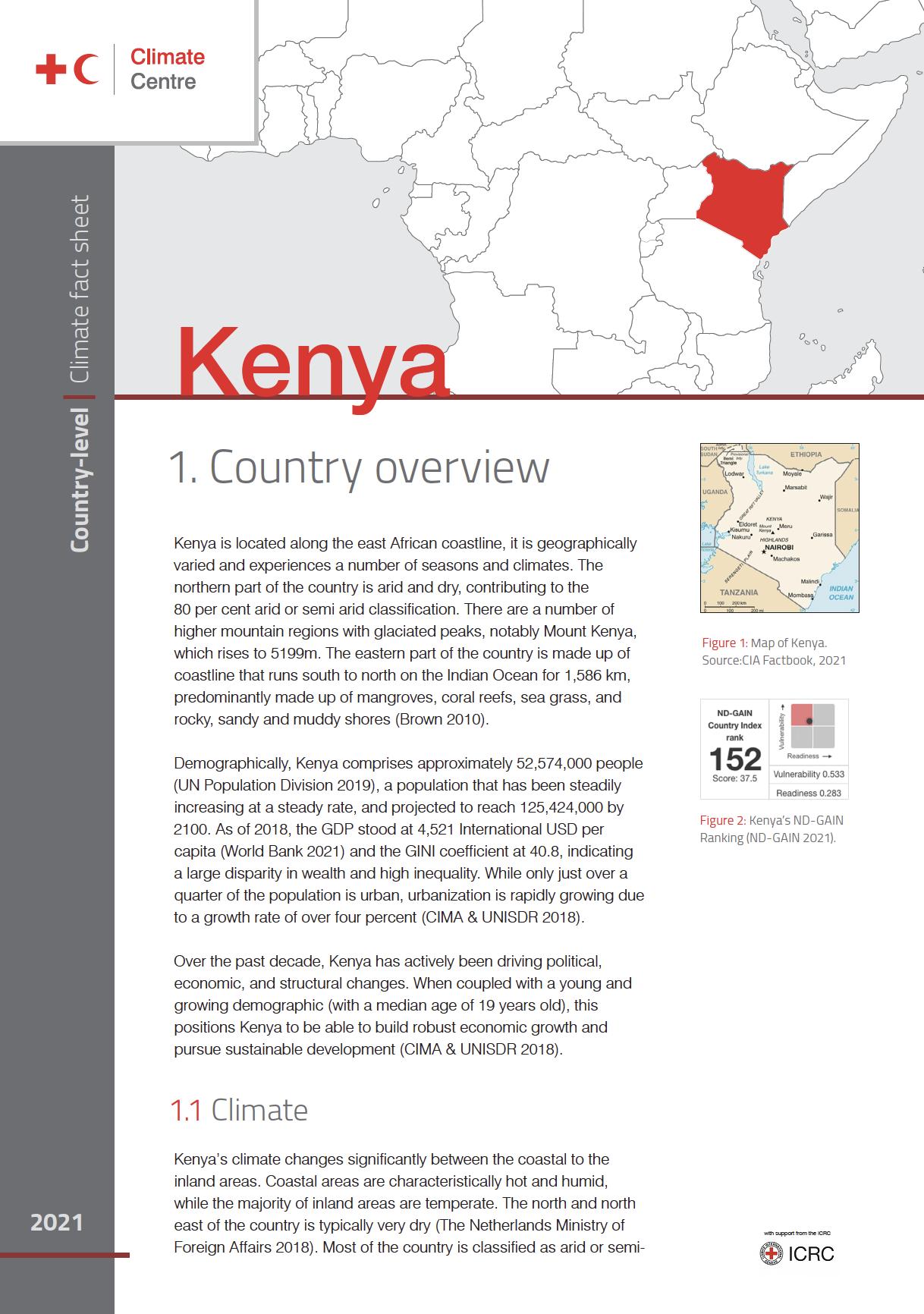 Country Factsheet: Kenya