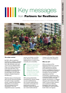 Key messages from Partners for Resilience: World Urban Forum 2018