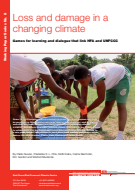 Loss and damage in a changing climate: Games for learning and dialogue that link HFA and UNFCCC