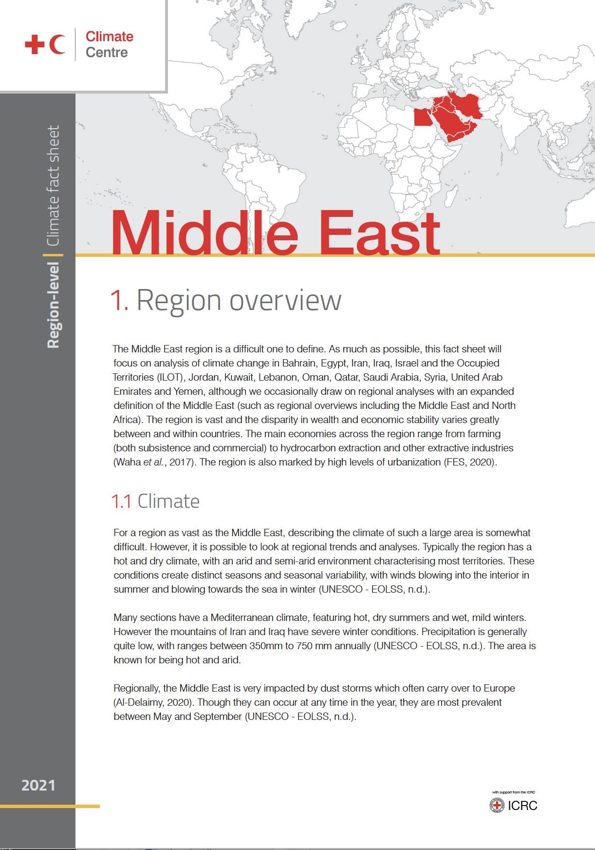 Region: Middle East