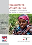 Preparing for the 2015–2016 El Niño