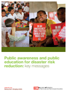 Public awareness and public education for disaster risk reduction: key messages