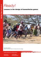 Ready! Lessons in the design of humanitarian games