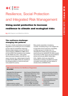 Resilience, social protection and integrated risk management