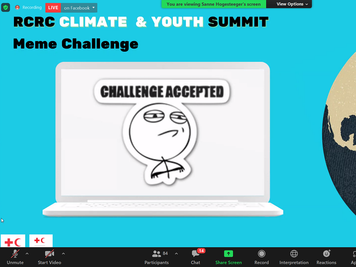 The young asked to take the lead on climate