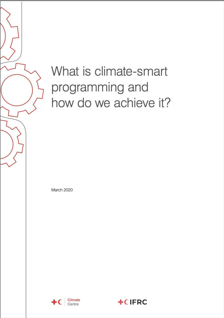 What is climate-smart programming?