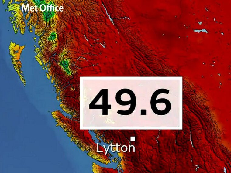 North American heatwave '150 times more likely with climate change', say attribution scientists