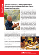 Spotlight on China: The convergence of DRR and CCA in practice