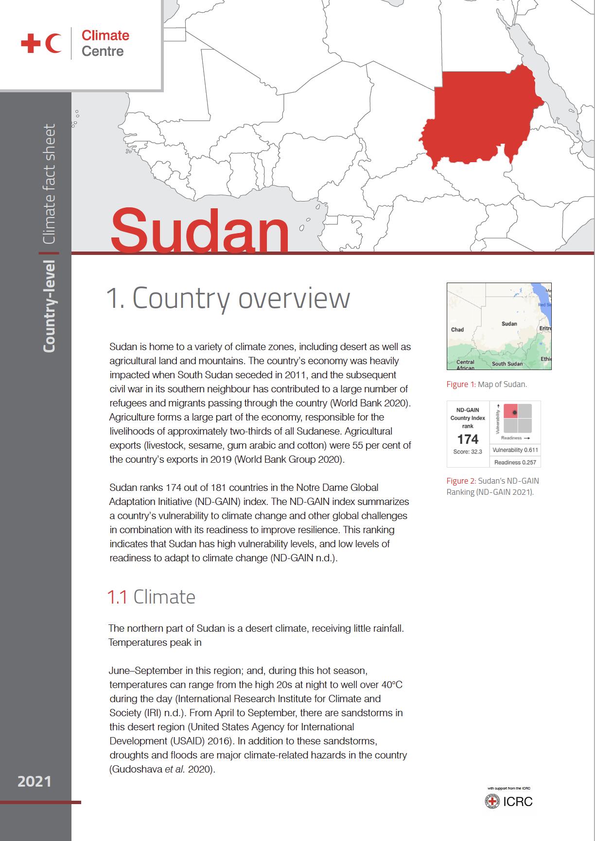 Country Factsheet: Sudan