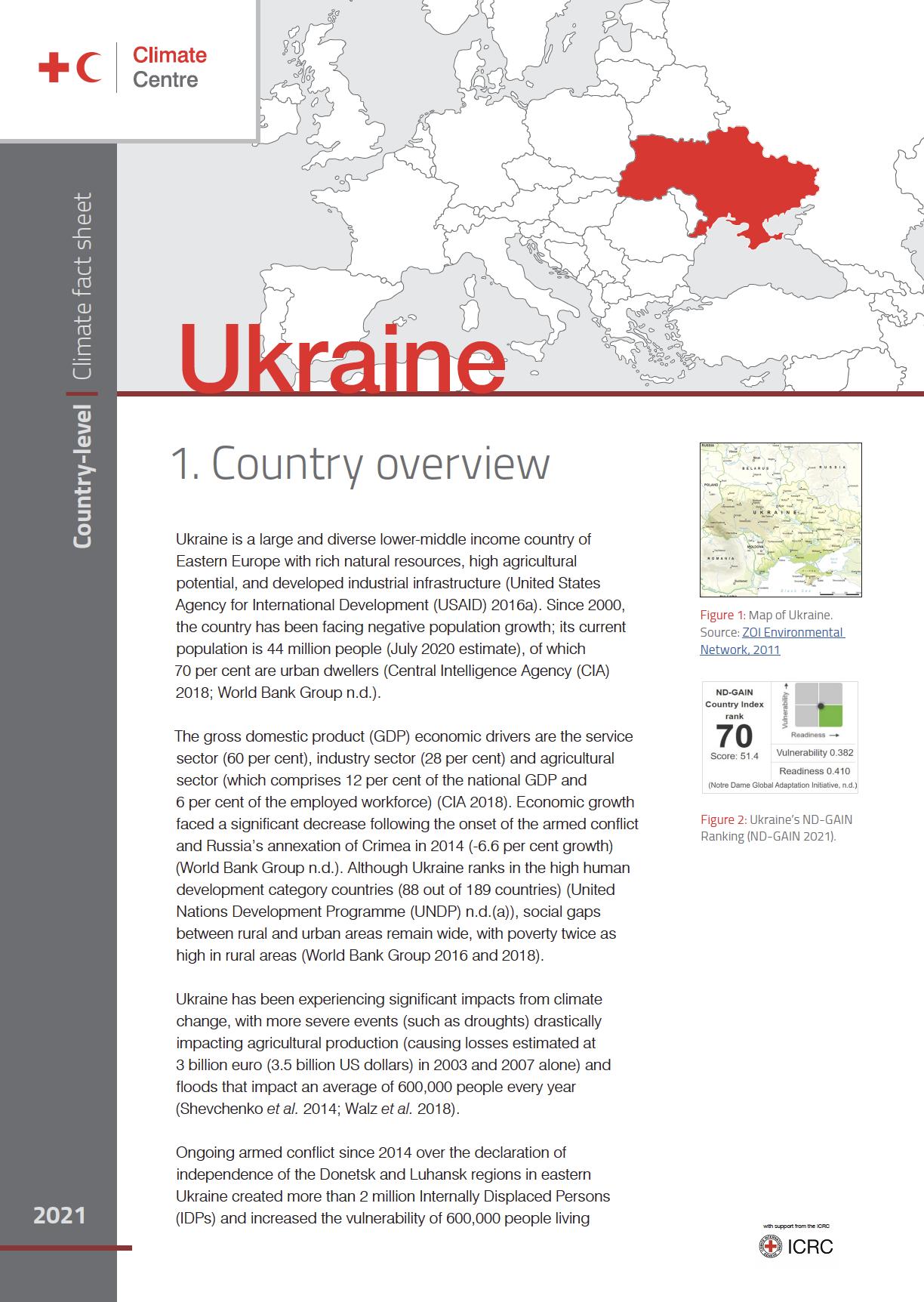 Country Factsheet: Ukraine