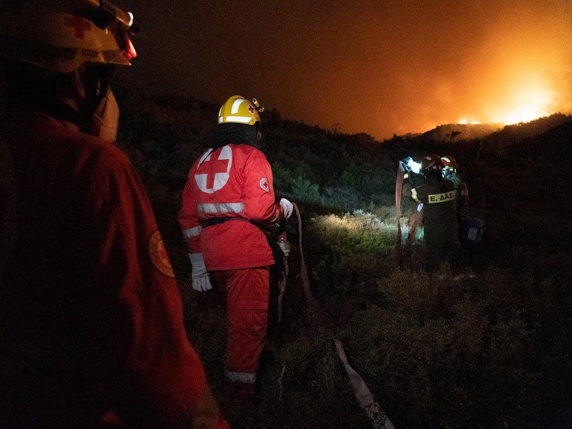 Forecast Mediterranean fire danger persists